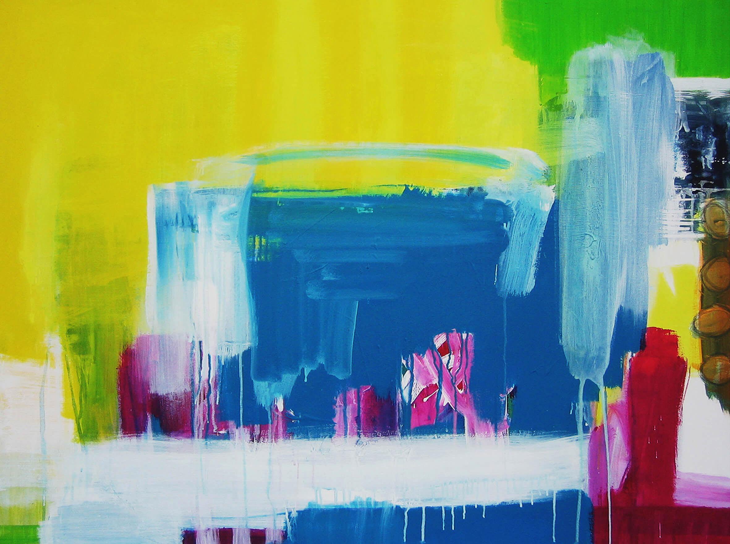 spirit artwork abstract expressive canvas