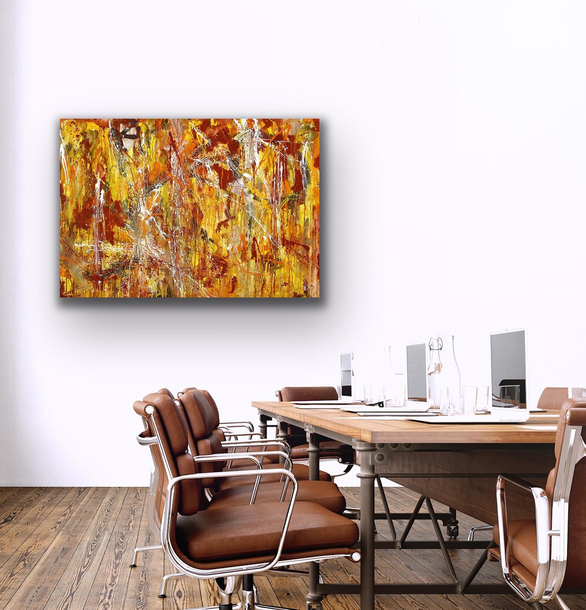 existence universe drip painting contemporary art petronilla hohenwarter canvas kunst wohnen art living working interior design
