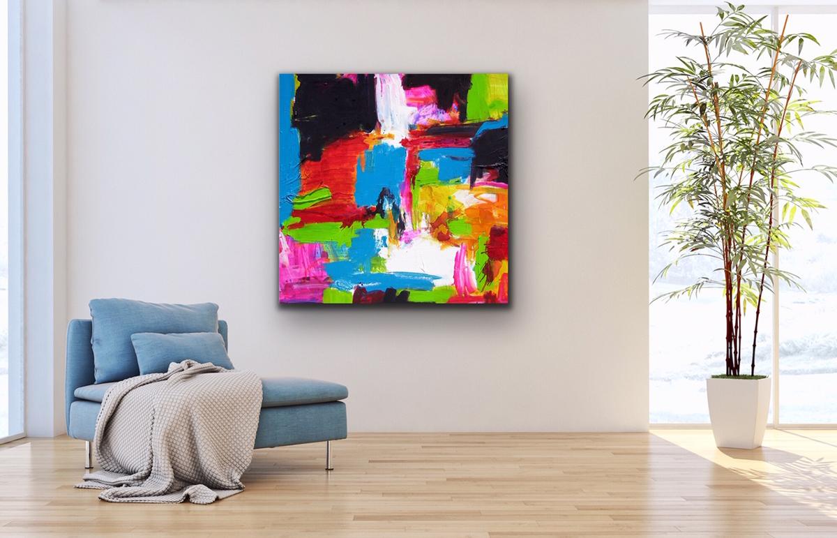 temple of revelation artwork contemporary art art interior kunst wohnen colorful petronilla hohenwarter