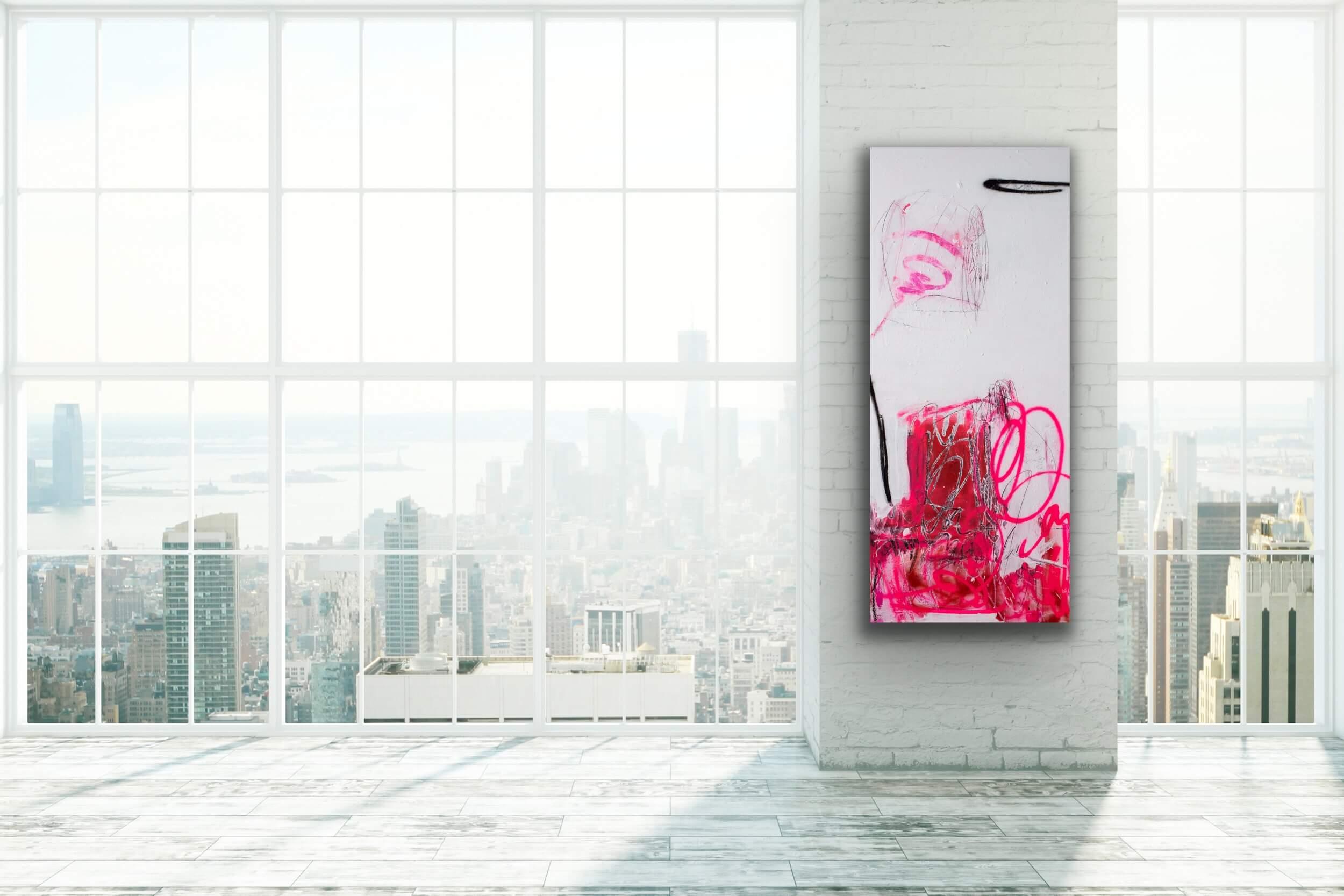 artwork painting abstract love Petronilla Hohenwarter interior design