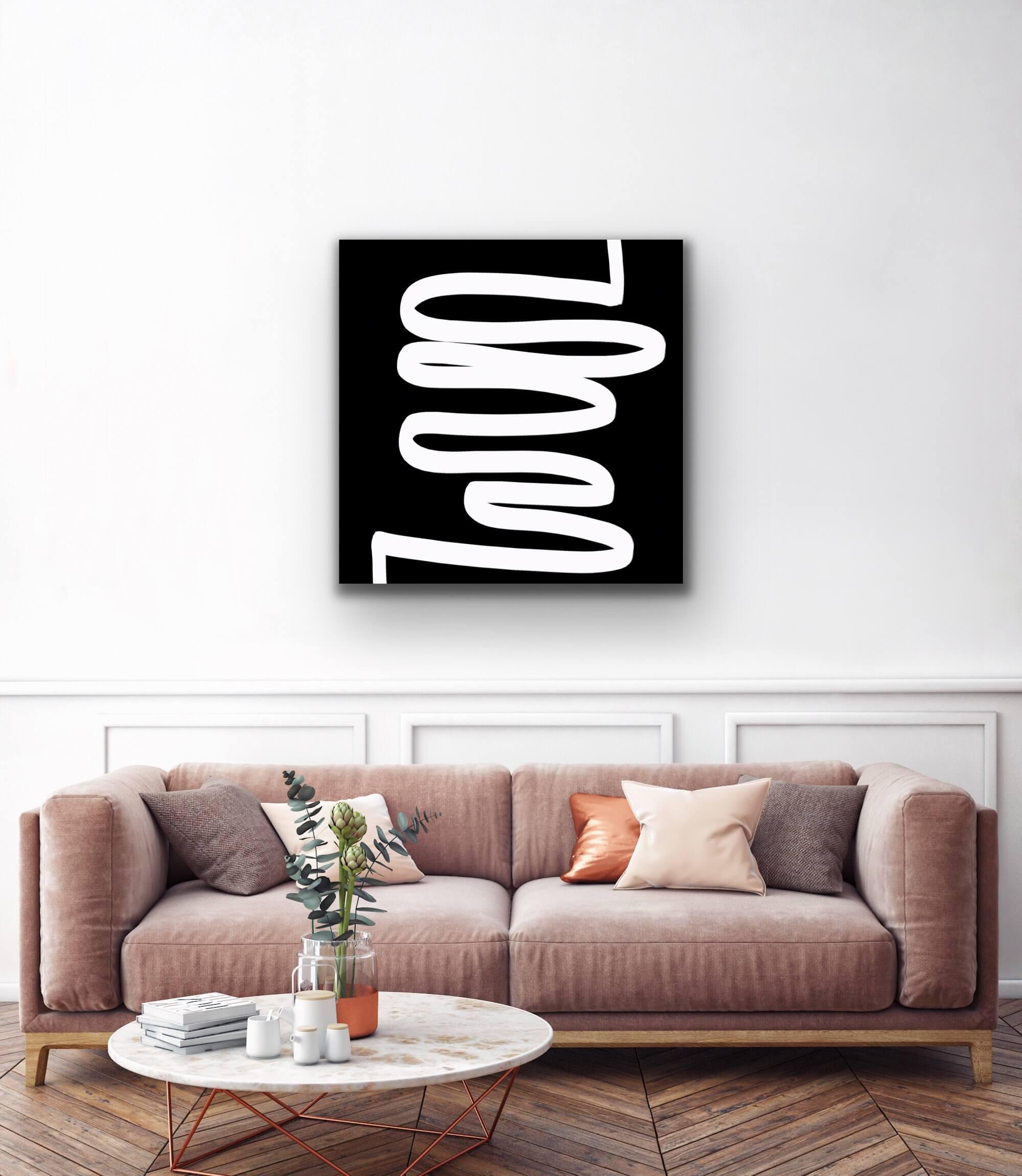 essentials glas print affordable art portfolio digital drawing Petronilla Hohenwarter interior design
