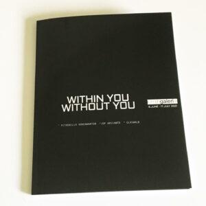 Art Catalogue Exhibition virtual digital Rumahgaleri Petronilla Hohenwarter Jop Arsianto Glaswald Within you without you
