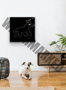 essentials gedankenwandern affordable art interior design Petronilla Hohenwarter digitale Zeichnung drawing