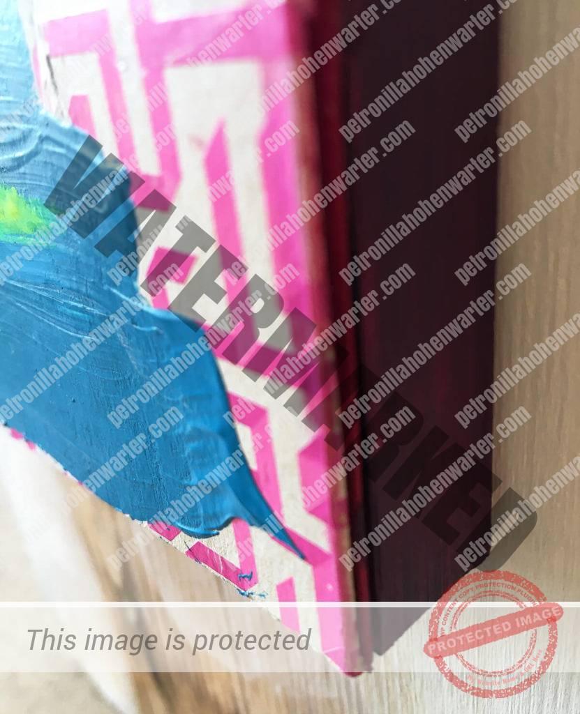 kunst anker blue pink belief