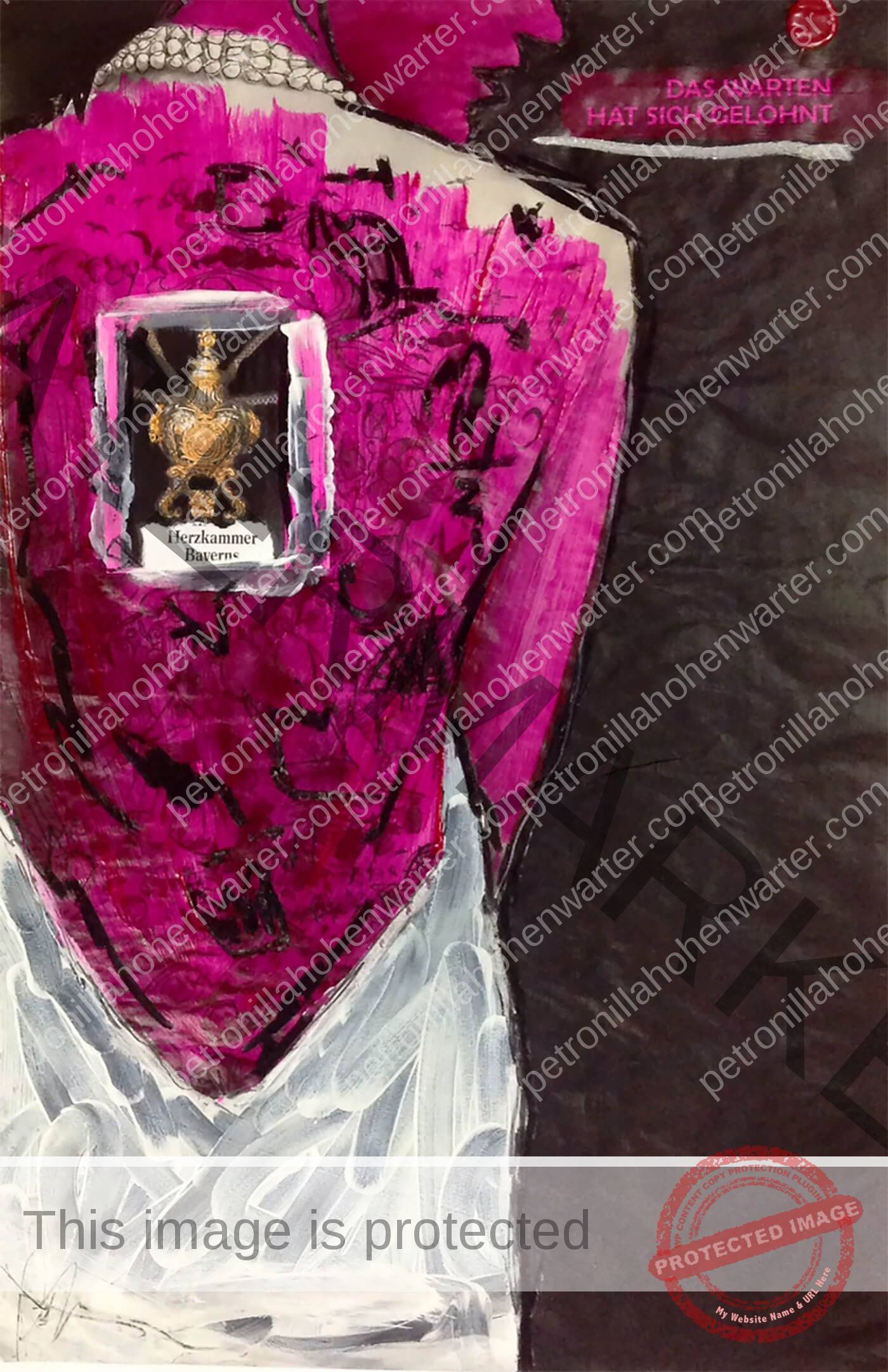 quo vadis Herzkammer bayern artist pink figure woman