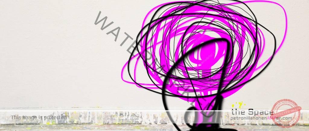 spirituality lifestyle we are circle space pink art kunst informell Bewusstsein Persönlichkeitsentfaltung potentiale entfalten Seelenfamilie soultribe lebensphilosophie