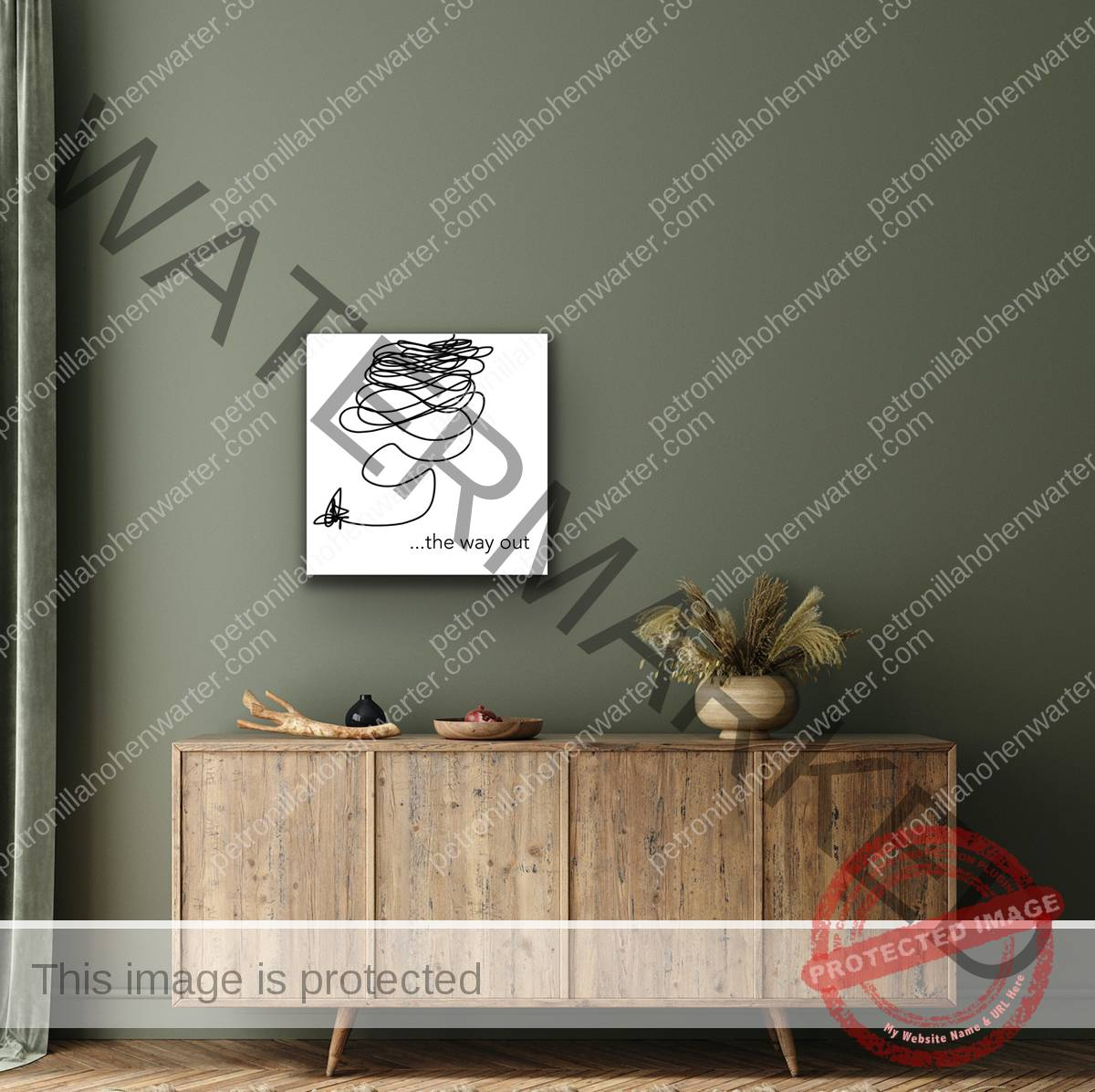 the essentials affordable art kunst wohnen art interior digital print acrylglas print petronilla hohenwarter