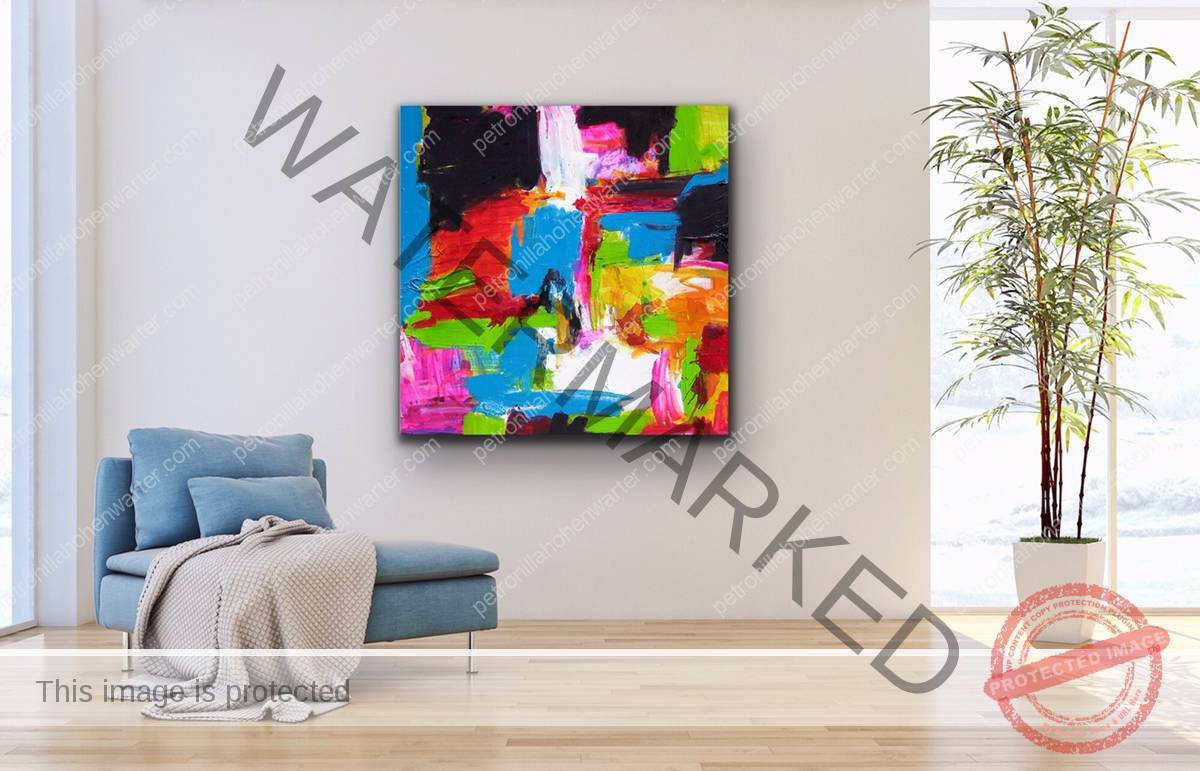 temple of revelation artwork contemporary art art interior kunst wohnen colorful petronilla hohenwarter
