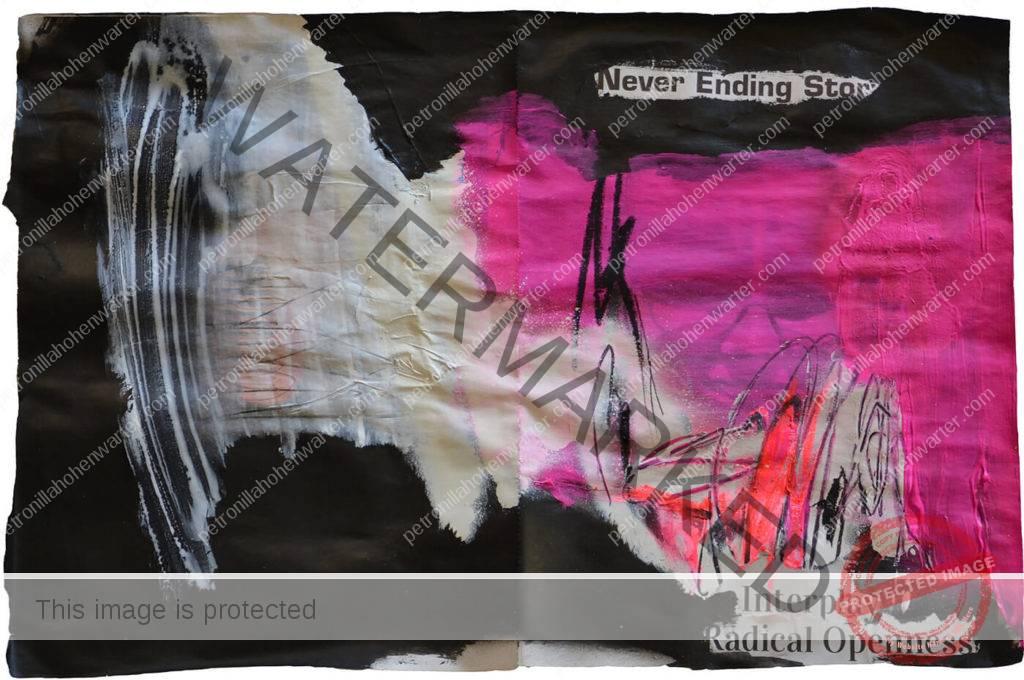 modern art radical openess artwork Quo vadis Gemütsüberlastung corona Mahnmal Himmel und erde Petronilla HohenwARTer Künstlerin artist