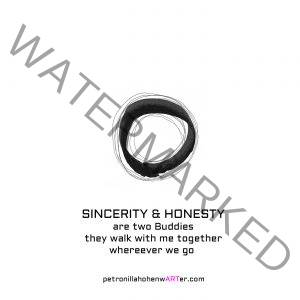mindset circle philosophie sincerity honesty art abstract artistquote